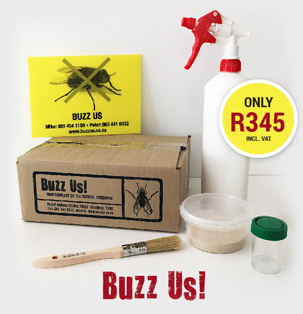 BUZZ US: FLY CONTROL TREATMENT is the ANSWER!
